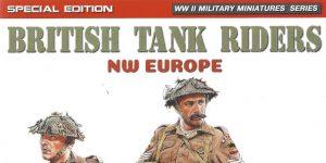British Tank Riders NW Europe 1:35 Miniart #35312