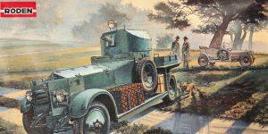 WW II British Armoured Car (Pattern 1920 Mk I)