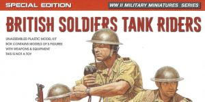 British Soldiers Tank Rider Special Edition 1:35 Miniart #35299