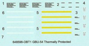 Eduard-648598-GBU-54-Bomben-Termally-Protected-12-300x158 Eduard 648598 GBU-54 Bomben Termally Protected (12)