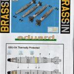 Eduard-648598-GBU-54-Bomben-Termally-Protected-15-150x150 GBU-54 Bomben Termally Protected in 1:48 von Eduard #648598