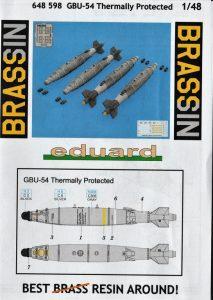 Eduard-648598-GBU-54-Bomben-Termally-Protected-15-213x300 Eduard 648598 GBU-54 Bomben Termally Protected (15)