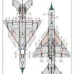 Eduard-70143-MiG-21-PF-ProfiPack-40-150x150 MiG-21PF in 1:72 von Eduard #70143
