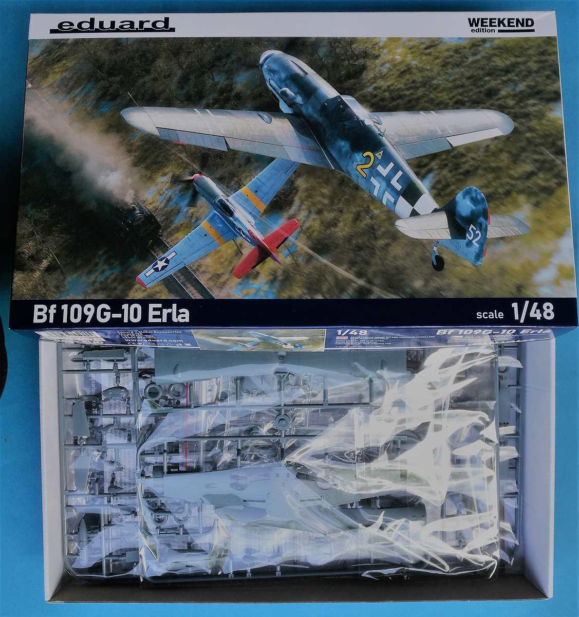 Eduard-84174-Bf-109-G-10-Erla-4 Messerschmitt Bf 109 G-10 Erla in 1:48 von Eduard # 84174