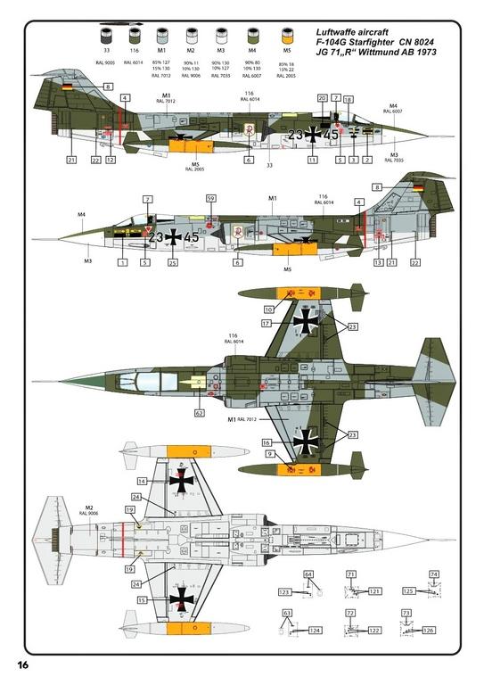 Heller-30520-F-104G-Starfighter-in-1-48-31 F-104G Starfighter von Heller in 1:48 #30520