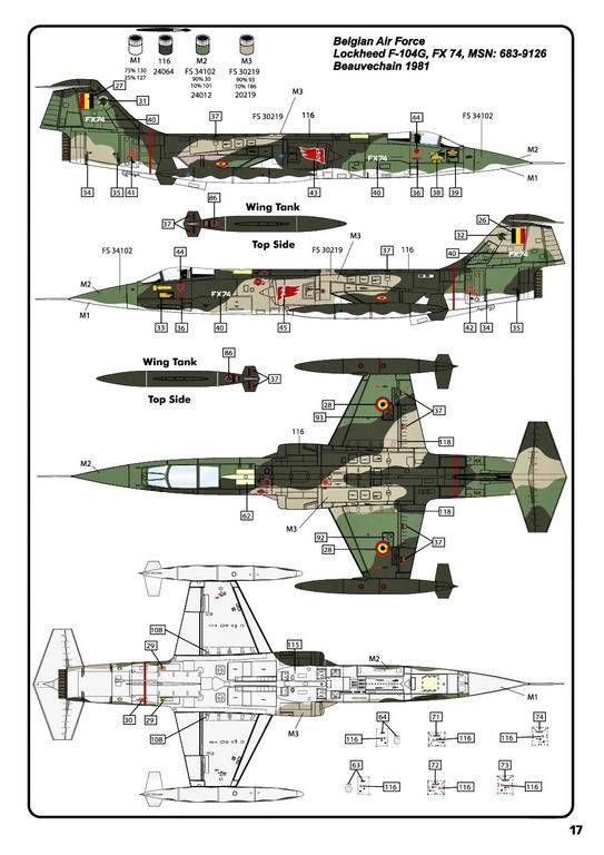 Heller-30520-F-104G-Starfighter-in-1-48-32 F-104G Starfighter von Heller in 1:48 #30520