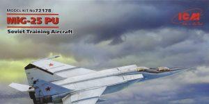 MiG-25PU in 1:72 von ICM #72178