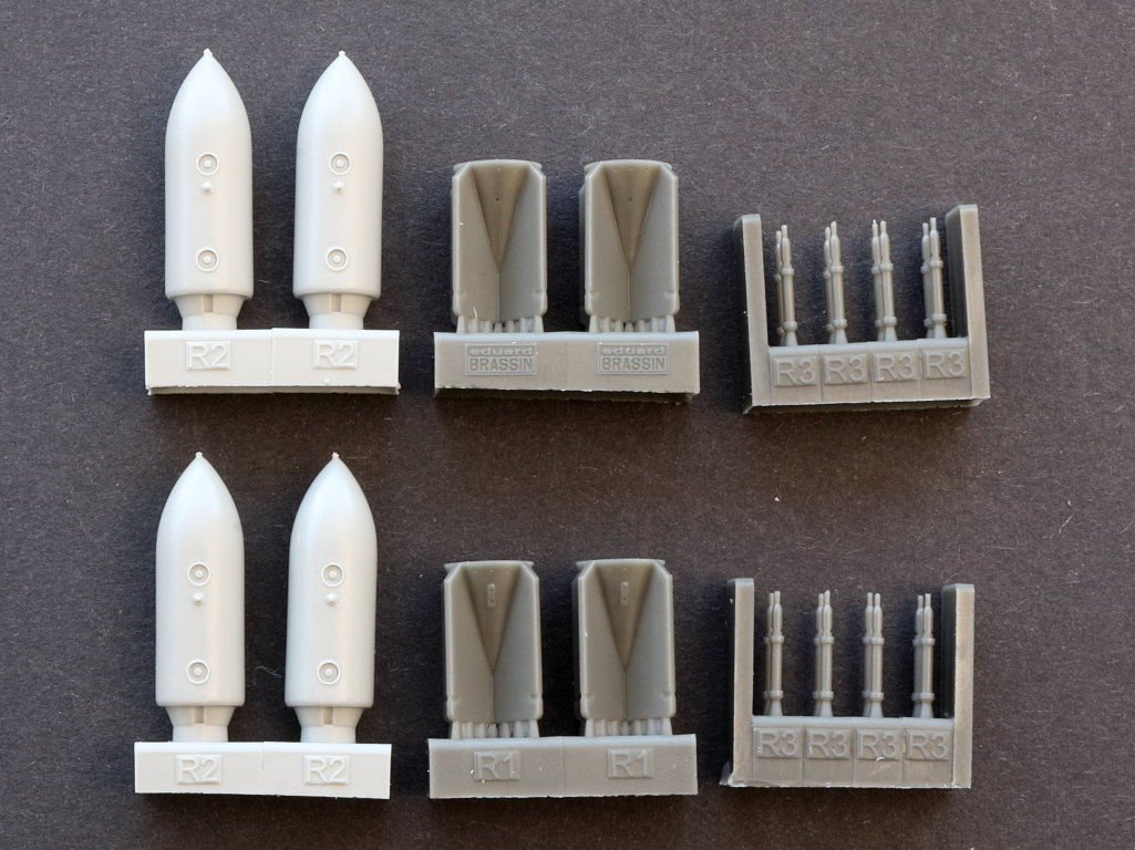 IMG_0006 SC-250 German Bombs 1:48 Eduard (#648 161)