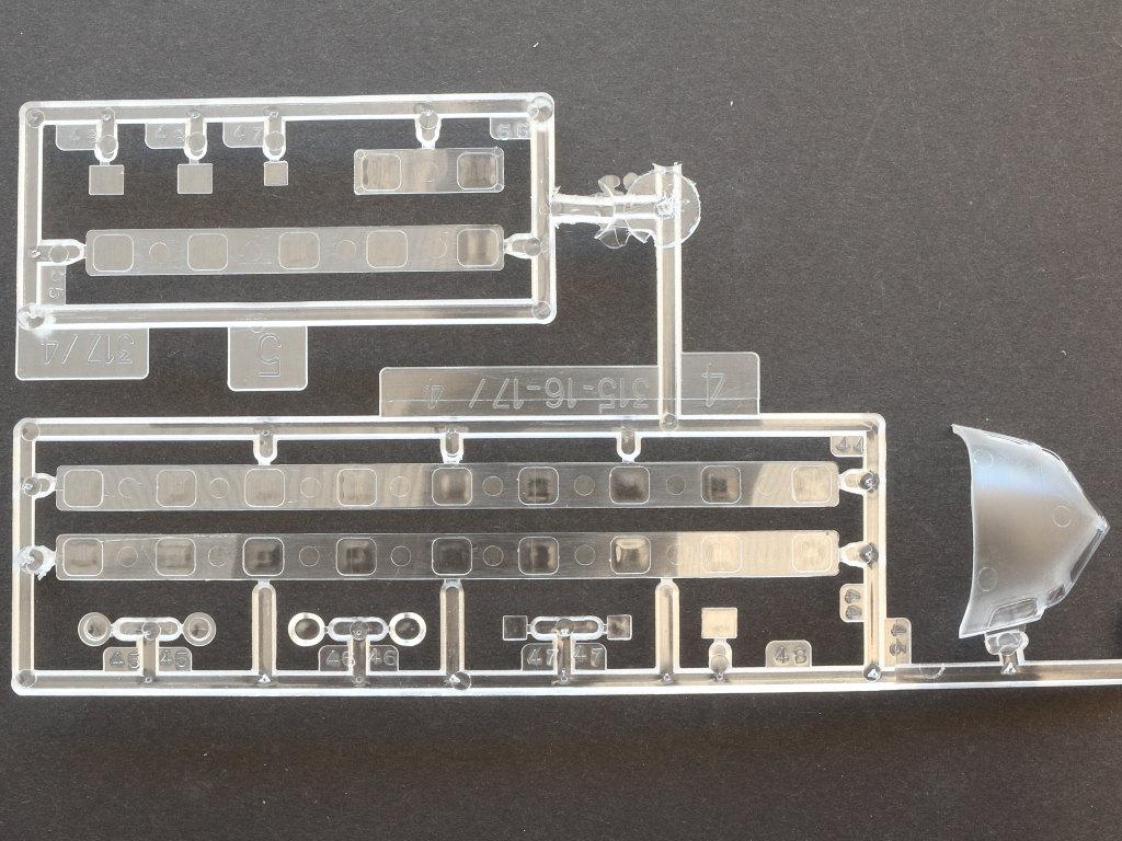 Klarsichtteile Douglas C-118 Liftmaster 1:72 Heller (#80317)