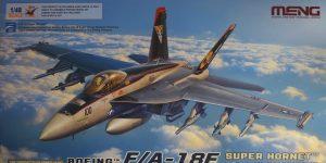 Jetzt auch von Meng: Eine F/A-18E Super Hornet in 1:48 #LS 012
