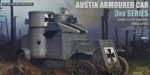 Austin Armoured Car 3rd Series German, Finnish Service in 1:35 von MiniArt #39010