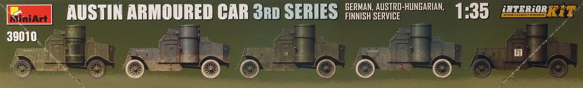 MiniArt-39010Austin-Armoured-Car-3rd-Series-German-2 Austin Armoured Car 3rd Series German, Finnish Service in 1:35 von MiniArt #39010