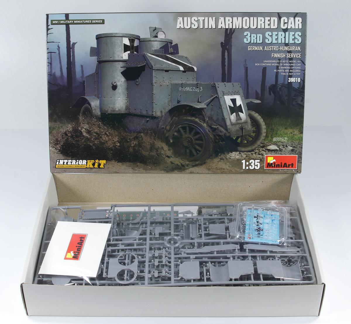 MiniArt-39010Austin-Armoured-Car-3rd-Series-German-3 Austin Armoured Car 3rd Series German, Finnish Service in 1:35 von MiniArt #39010