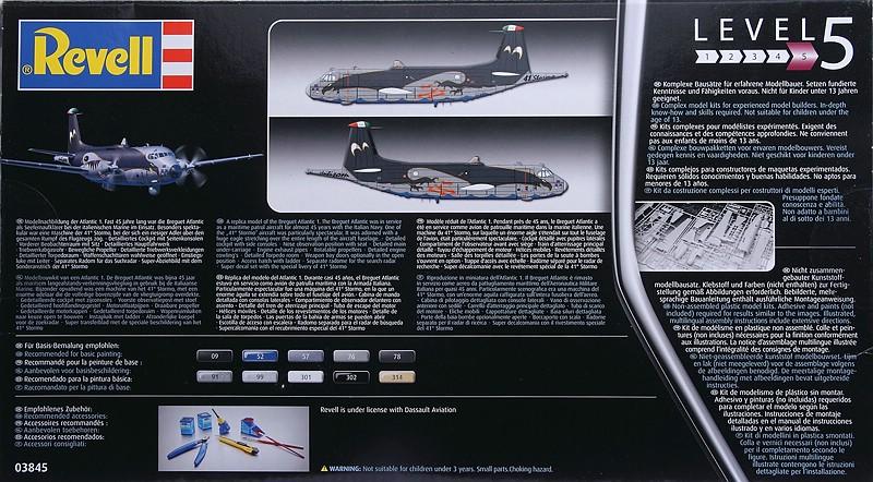 "Revell-03845-Breguet-Atlantique-Italian-Eagle-2 Breguet Atlantic ""Italian Eagle"" in 1:72 von Revell #03845"