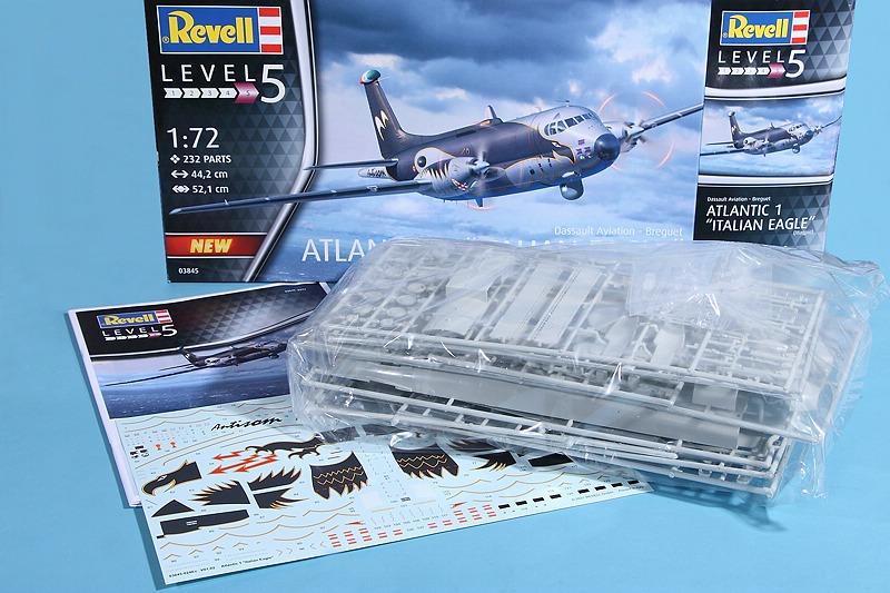 "Revell-03845-Breguet-Atlantique-Italian-Eagle-4 Breguet Atlantic ""Italian Eagle"" in 1:72 von Revell #03845"