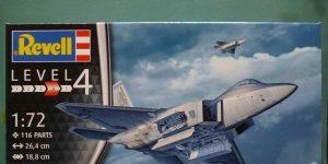 Lockheed F-22A Raptor in 1:72 von Revell # 03858