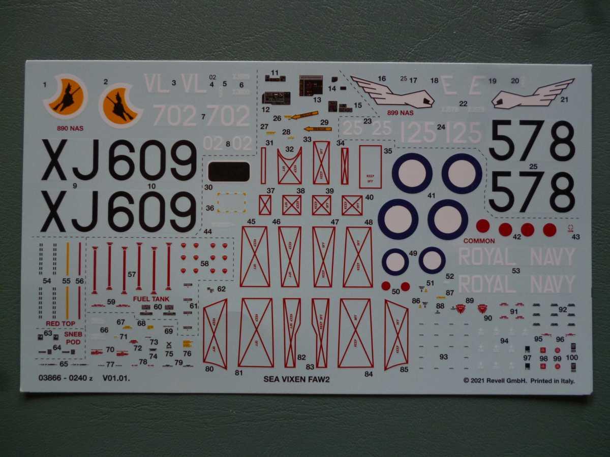 Revell-03866-Sea-Vixen-FAW-2-22 Sea Vixen FAW 2 in 1:72 von Revell # 03866