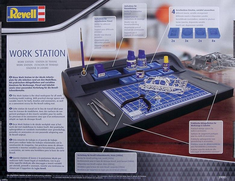 "Revell-39085-Work-Station-2 Arbeitsplatz ""Work Station"" von Revell # 39085"