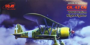 Fiat CR.42 CN night fighter – ICM 1/32