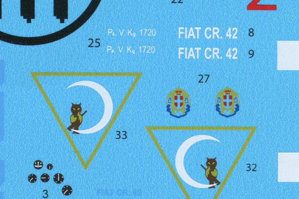 Review_ICM_CR.42_Night_28 Fiat CR.42 CN night fighter - ICM 1/32