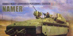 """israeli heavy armoured personnel carrier """"NAMER"""" – Meng 1/35"""