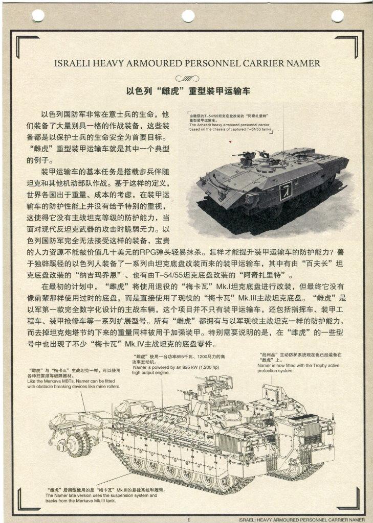 """Review_Meng_Namer_80 israeli heavy armoured personnel carrier """"NAMER"""" - Meng 1/35"""