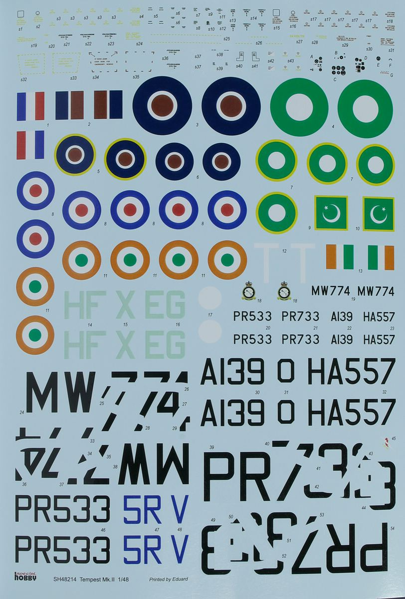 Special-Hobby-48214-Tempest-Mk.II-HiTech-53 Tempest Mk. II in 1:48 von Special Hobby # 48214