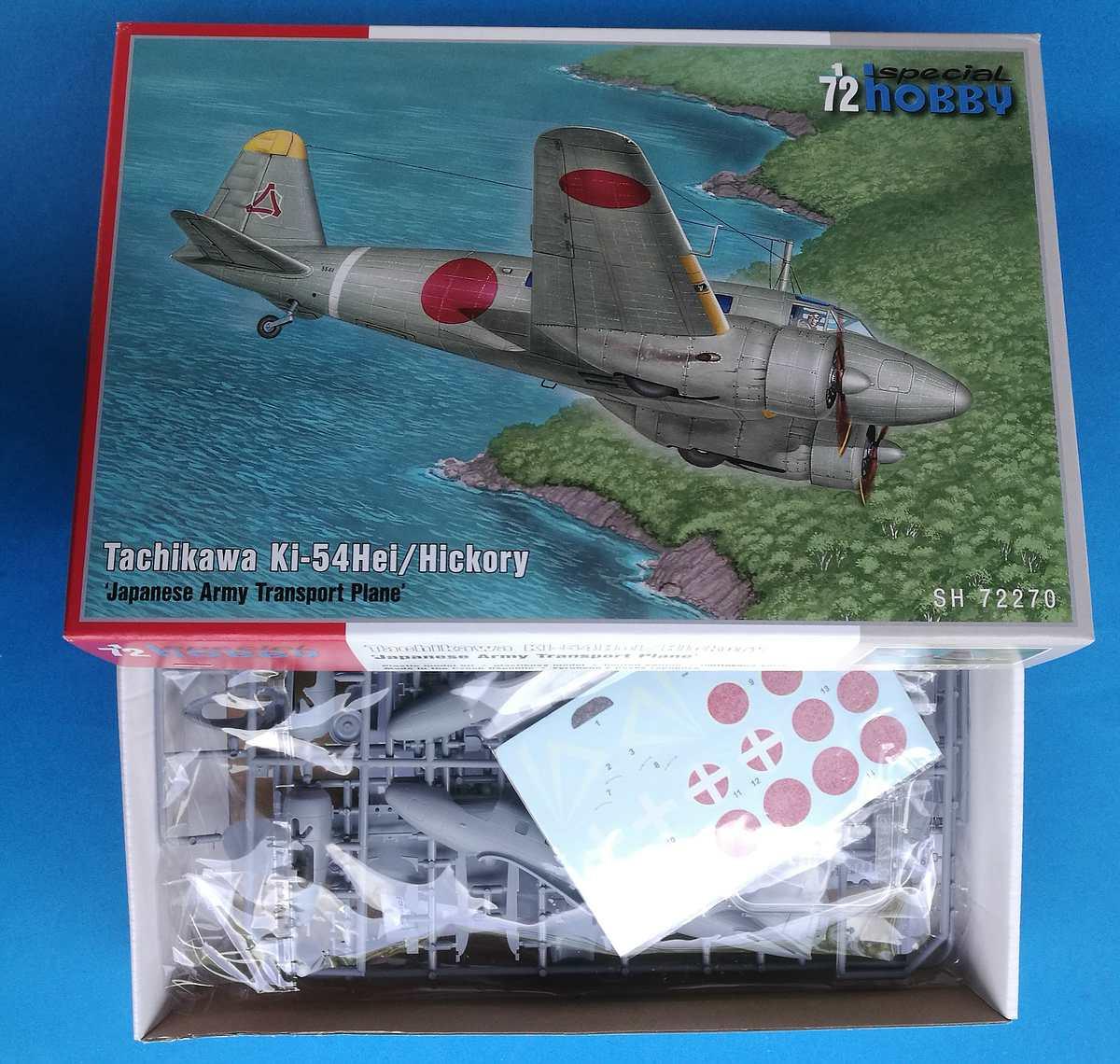"""Special-Hobby-SH-72270-Tachikawa-Ki-54-Hei-Hickory-3 Tachikawa Ki-54Hei """"Hickory"""" in 1:72 von Special Hobby #72270"""