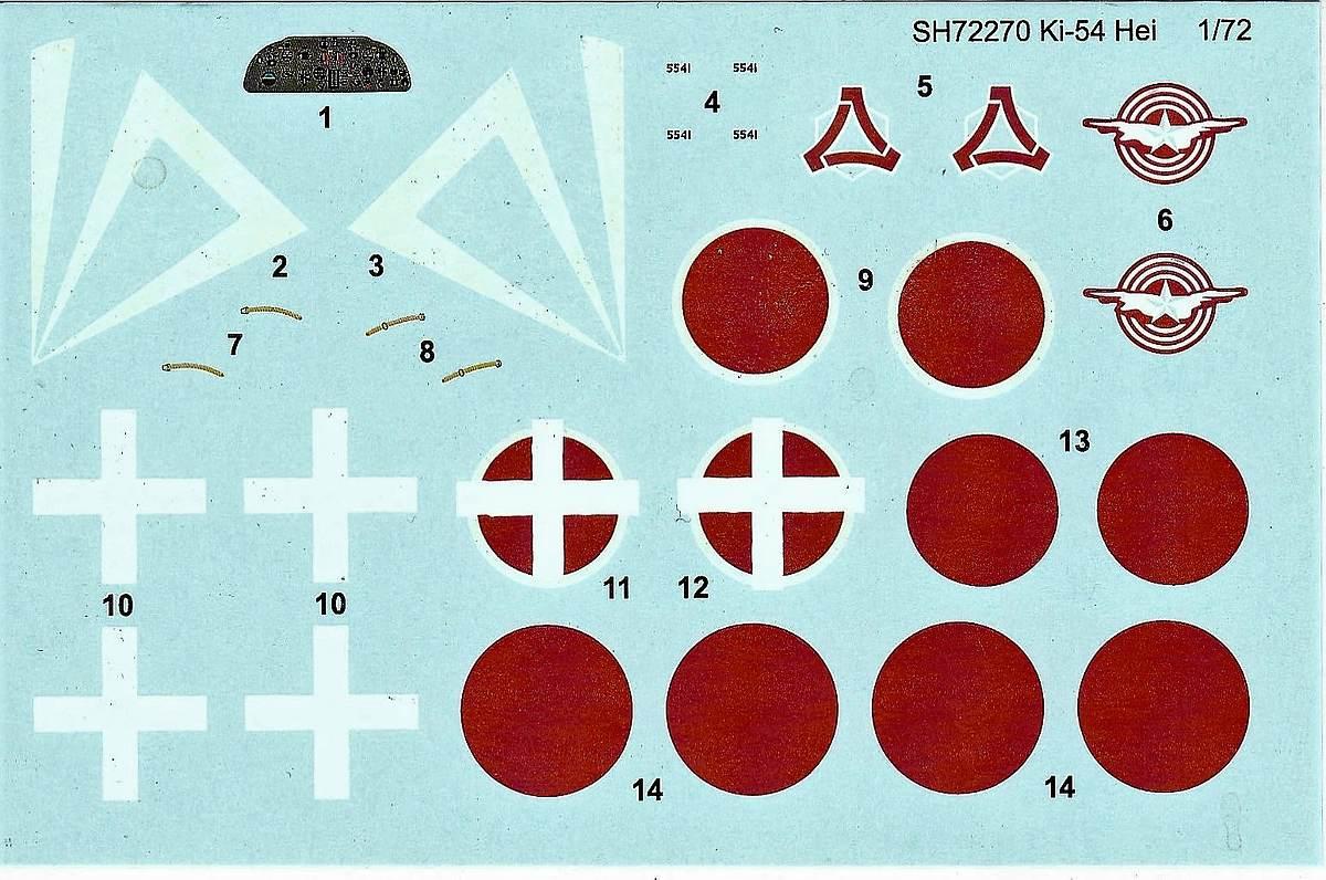 """Special-Hobby-SH-72270-Tachikawa-Ki.54-Hei-Hickory-1 Tachikawa Ki-54Hei """"Hickory"""" in 1:72 von Special Hobby #72270"""