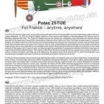 Special-Hobby-SH-72407-Potez-25TOE-16-150x150 Potez 25 TOE in 1:72 von Special Hobby # 72407