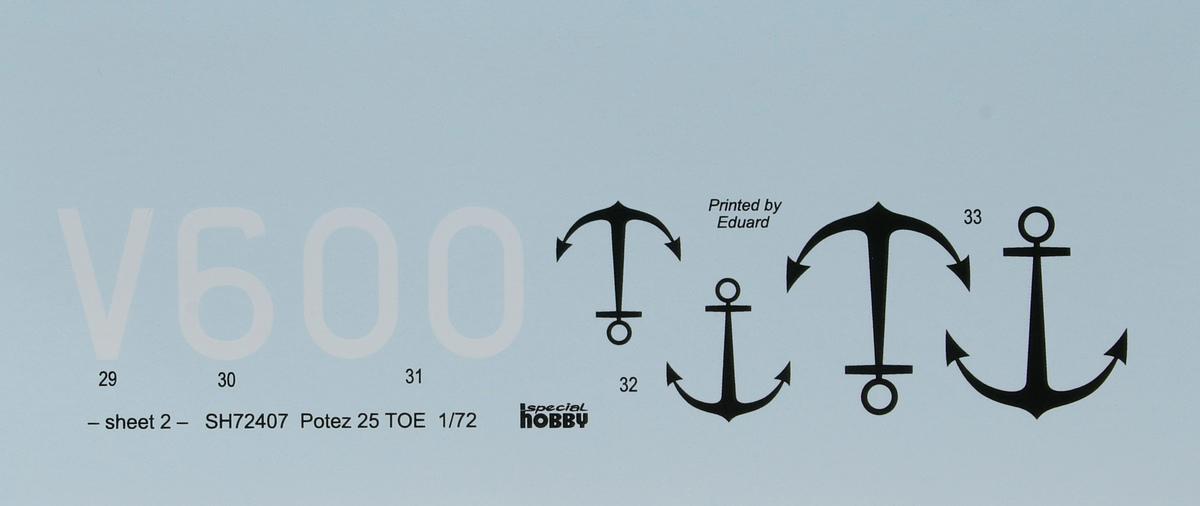 Special-Hobby-SH-72407-Potez-25TOE-36 Potez 25 TOE in 1:72 von Special Hobby # 72407