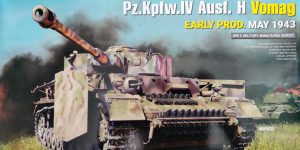 Pz.Kpfw.IV Ausf. H Vomag Early Prod. May 1943 1:35 Miniart (#35298)