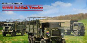 WWII British Trucks 1:35 Miniart (#DS3511)