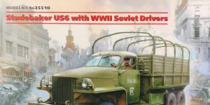 Studebaker US 6 with WWII Soviet Drivers 1:35 ICM (#35510)