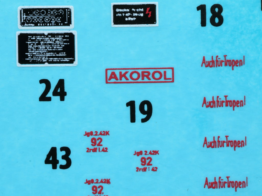 Decals2 Pz.Kpfw.IV Ausf. H Vomag Early Prod. May 1943 1:35 Miniart (#35298)