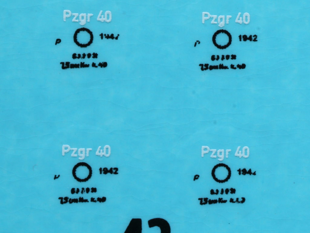 Decals3 Pz.Kpfw.IV Ausf. H Vomag Early Prod. May 1943 1:35 Miniart (#35298)