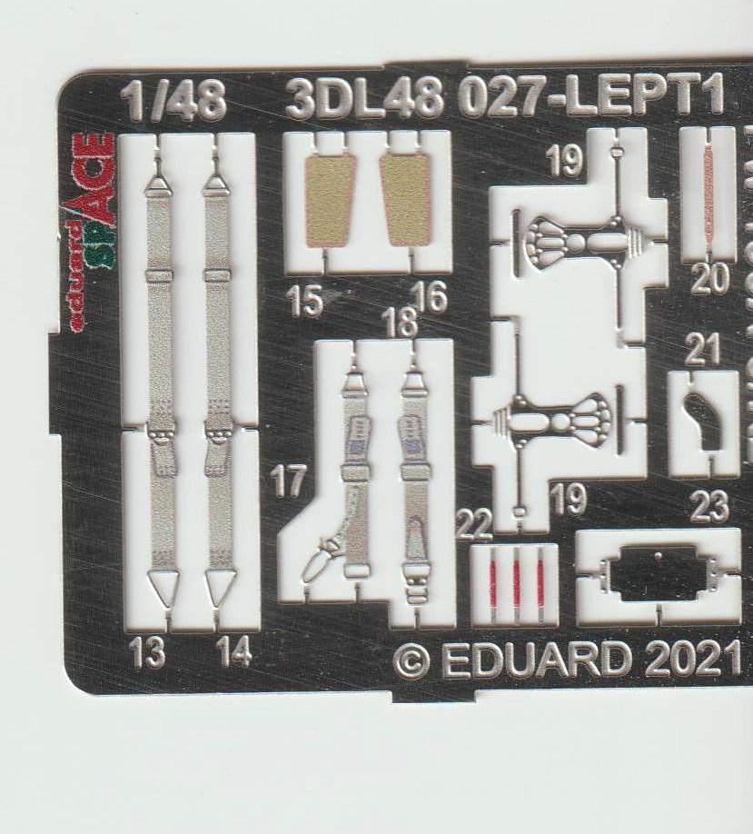 Eduard-3DL48027-Fw-190-A8-R2-Space-2 FW 190 A-8/R2 Detailset SPACE in 1:48 von Eduard # 3DL48027
