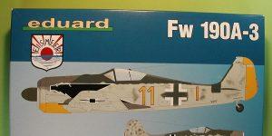 FW 190 A-3 in 1:48 als WEEKEND-kit von Eduard # 84112