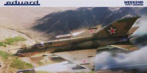 MiG-21 Bis WEEKEND in 1:48 von Eduard #84130