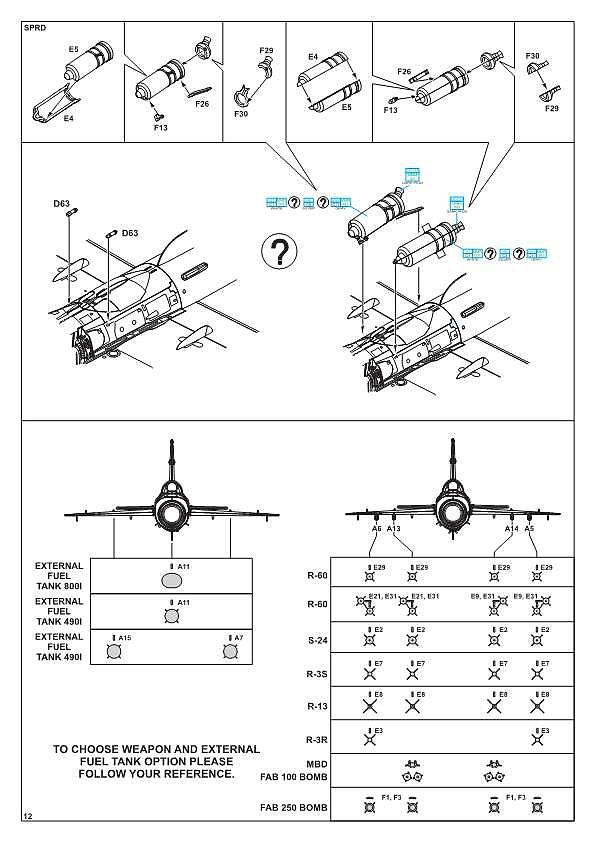 Eduard-84130-MiG-21-Bis-WEEKEND-15 MiG-21 Bis WEEKEND in 1:48 von Eduard #84130