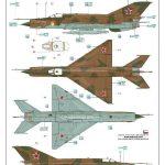 Eduard-84130-MiG-21-Bis-WEEKEND-16-150x150 MiG-21 Bis WEEKEND in 1:48 von Eduard #84130