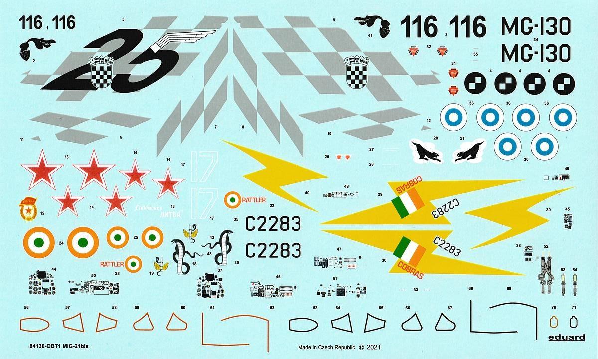 Eduard-84130-MiG-21-Bis-WEEKEND-24-rotated MiG-21 Bis WEEKEND in 1:48 von Eduard #84130