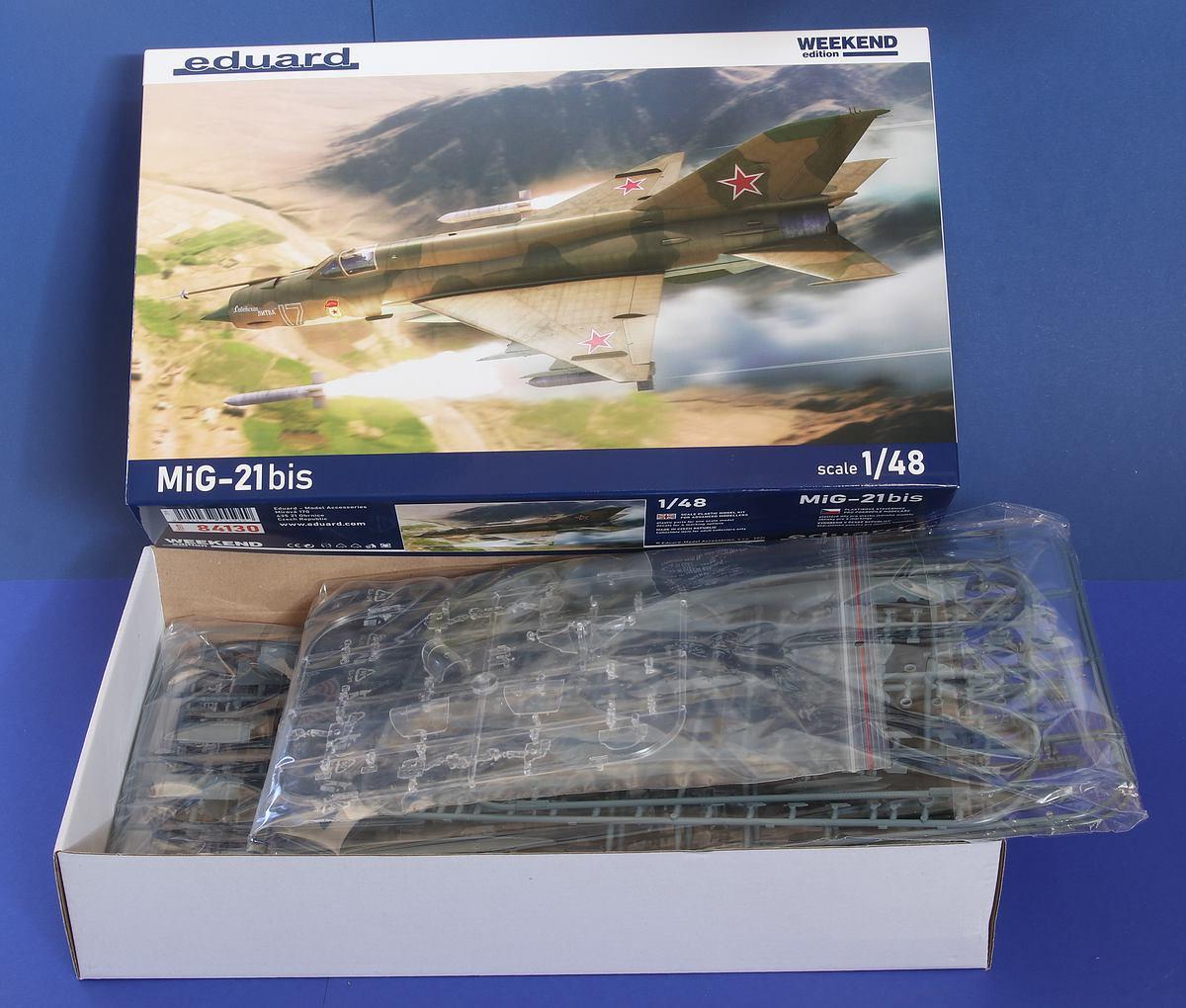Eduard-84130-MiG-21-Bis-WEEKEND-3 MiG-21 Bis WEEKEND in 1:48 von Eduard #84130