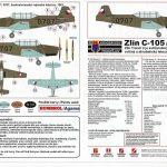Kovozavody-KPM-0022-Zlin-C-105-Trener2-26-150x150 Zlin C-105 (Trenér 2) in 1:72 von KP Models #KPM 0022