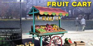 Demnächst erhältlich: Fruit Cart in 1:35 von MiniArt #35625