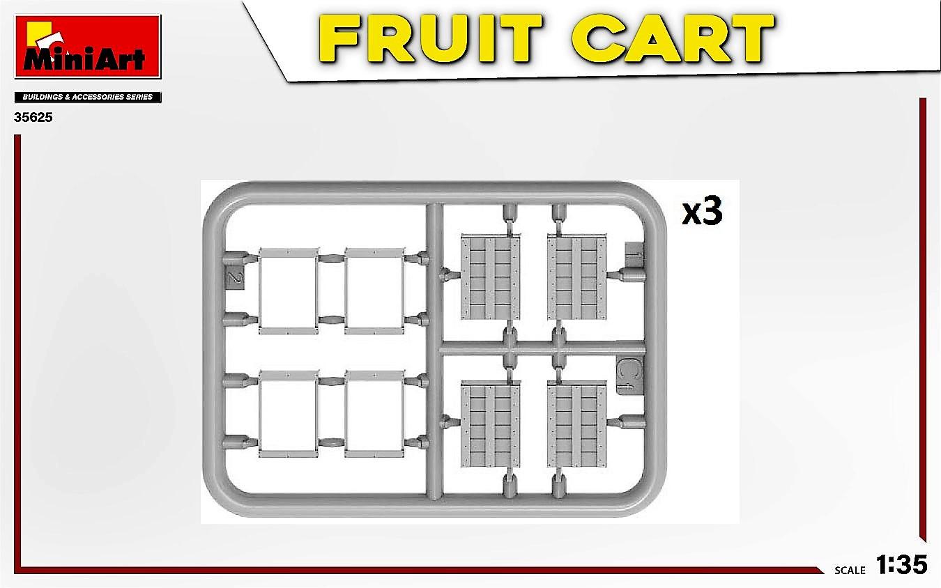 MIniArt-35625-FRuit-Cart-5-1 Demnächst erhältlich: Fruit Cart in 1:35 von MiniArt #35625