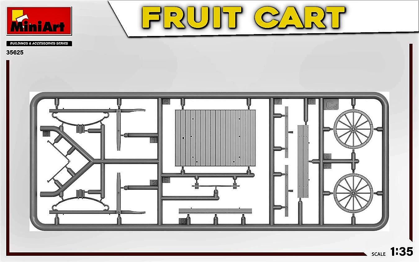 MIniArt-35625-FRuit-Cart-7-1 Demnächst erhältlich: Fruit Cart in 1:35 von MiniArt #35625