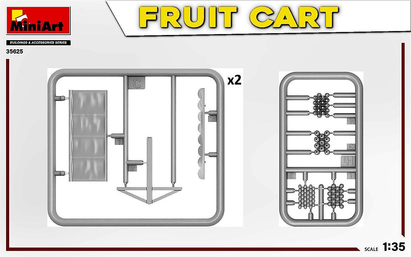 MIniArt-35625-FRuit-Cart-8-1 Demnächst erhältlich: Fruit Cart in 1:35 von MiniArt #35625