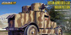 Austin Armoured Car – Indian pattern in 1:35 von MiniArt #39021