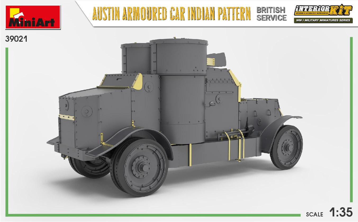 MIniArt-39021-Austin-Armoured-Car-Indian-Pattern-10 Austin Armoured Car - Indian pattern in 1:35 von MiniArt #39021